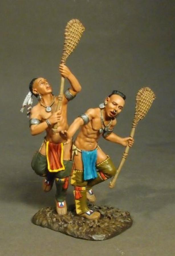 John Jenkins Monongahela WIM-12 Woodland Indisch Lacrosse Gamesr MIB