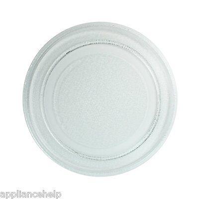 "Fits PANASONIC MICROWAVE TURNTABLE Glass Plate Dish 245mm 24.5cm 9.5/"""