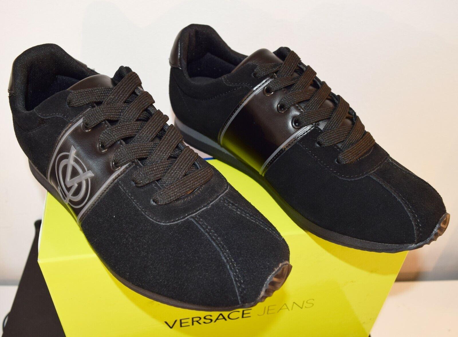 zapatos VERSACE JEANS zapatillas LINEA RUNNING mujer Talla 40 negro MOD.E0GQBSB1