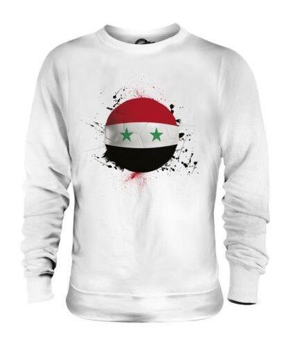 Siria Calcio Unisex Maglione Regalo Coppa Del Mondo Sport
