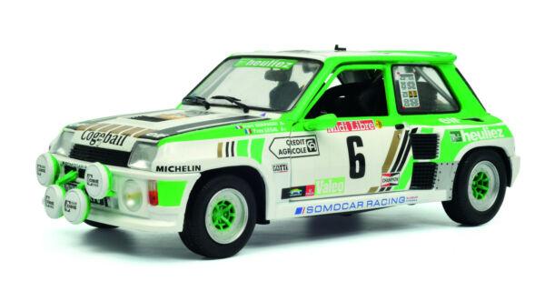 1 St, Voiture R5 Turbo Groupe B, Rallye De Lozère 1985, Solido 00446, Neuf Dans Sa Boîte La RéPutation D'Abord