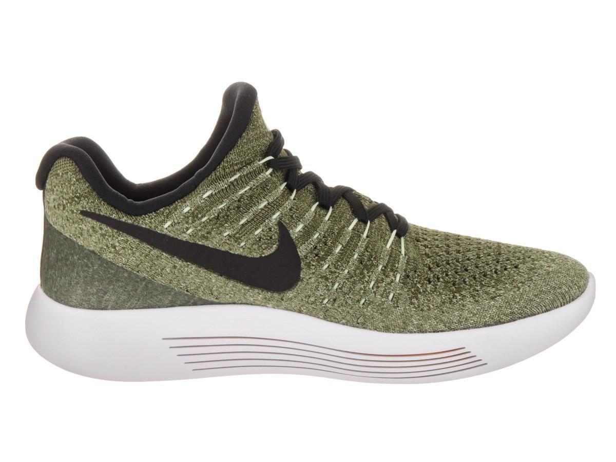 Femme Nike lunarepic faible Flyknit 2 Palm Vert Baskets 863780 300