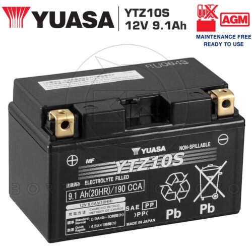 BATTERIA YUASA YTZ10S 12V 9AH =TTZ10S HONDA CBR F F4 (PC35) 600 2003 2004