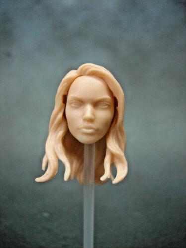 """ML304 Female Custom Cast Head Utiliser Avec 6/"""" Marvel Legends"""