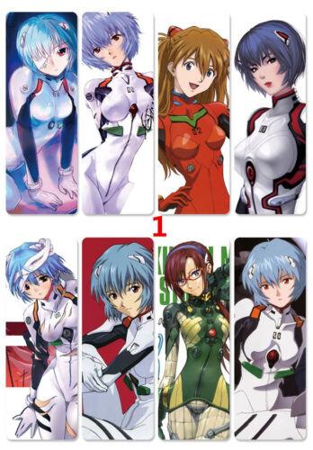 8pcs//set PVC Bookmarks of EVA Neon Genesis Evangelion book mark A