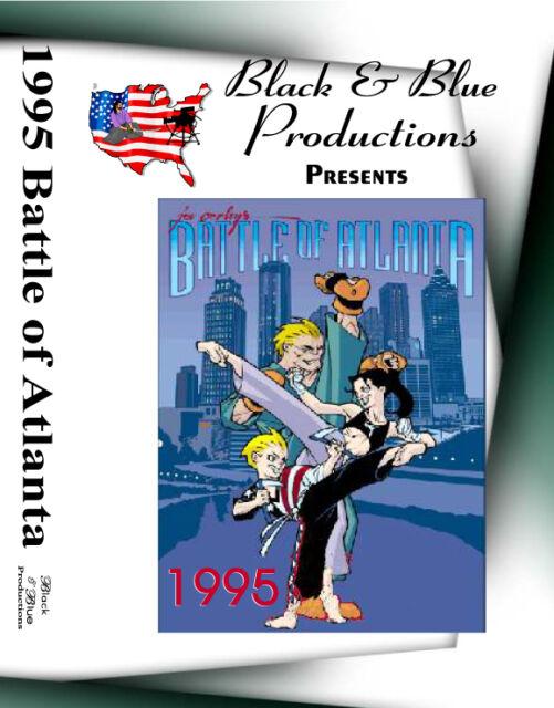 1995 Battle Of Atlanta Karate Championships tournament DVD
