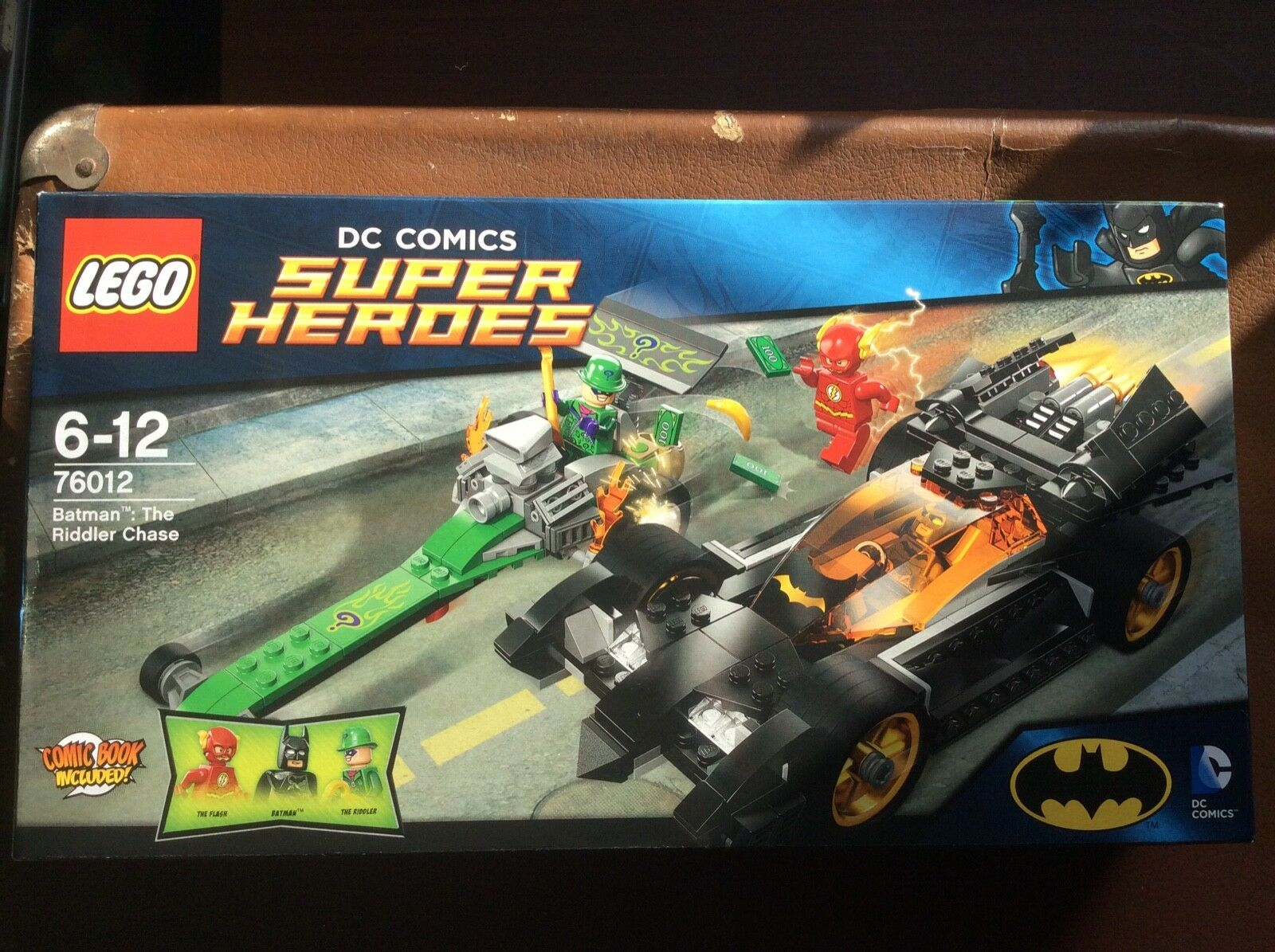 Lego Batman Batman, The Riddler Chase. Flash.New, unopened retired set.
