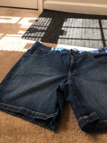 Gloria Vanderbilt Women's Blue Denim Jean Shorts S