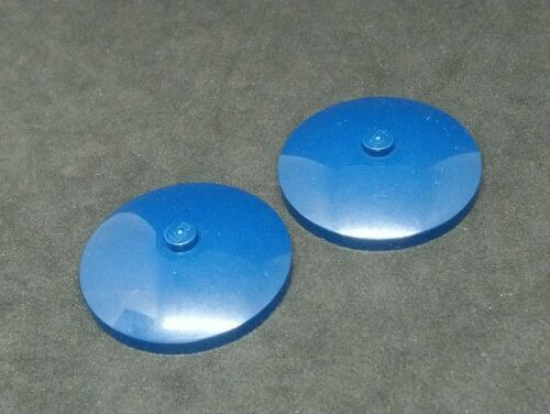 Blu Scuro x2 3960 LEGO Dish invertito 4x4