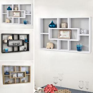 Image Is Loading Space Saving Floating Wall Shelves Display Shelf Bookshelf