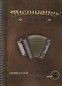 Steirische-Harmonika-Schule-Michlbauer-Methode-4-Lehrbuch-mit-CD-Griffschrift