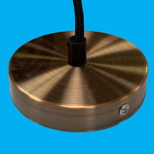 1 m Laiton Rose Plafond Flex Lumière Pendentif Kit ES E27 Ampoule Lampe Raccord