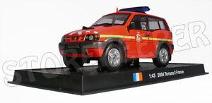 AMER COM 1//43 Scale 2004 Nissan terrano II FRANCE Fire Vehicle Diecast Model