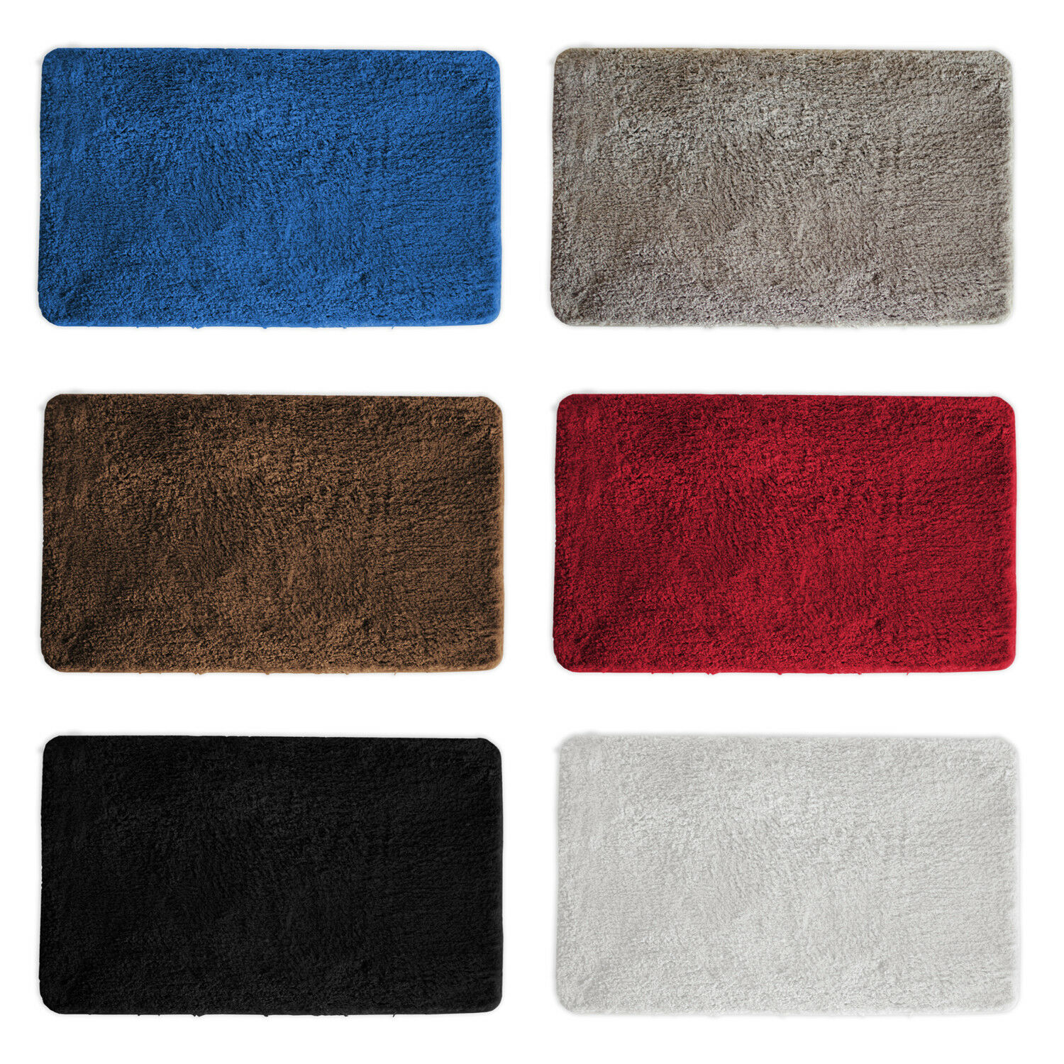 Mainstays Thick Double Soft Bath Mat White For Sale Online Ebay