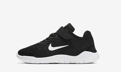 Nike Little Kids' FREE RN 2018 PSV Running Shoes BlackWhite AH3452 003 c | eBay