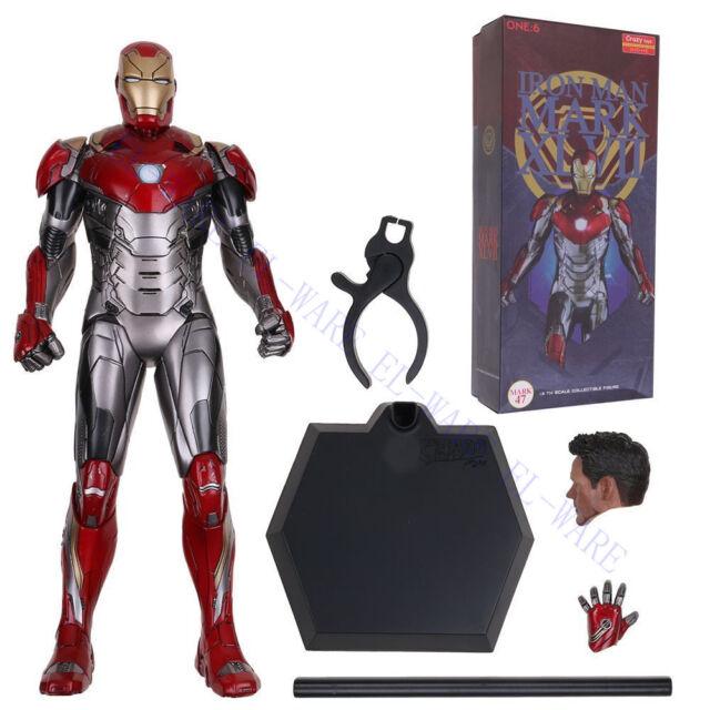 Avengers Hero Iron Man Head Mark Helmet Accessories Toy fit 8-12/'/' Action Figure
