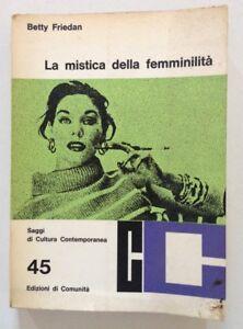Risultati immagini per BETTY FRIDAM LA MISTICA DELLA FEMMINILITA'