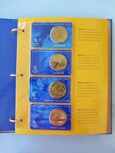 Australia-Sydney-2000-Olympic-Coin-Collection-Complete-28-Coins-and-Medallion