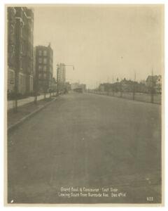 1914-BRONX-New-York-ORIGINAL-PHOTOGRAPH-Grand-Concourse-Burnside-Avenue