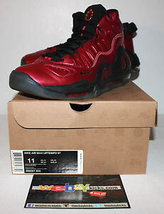 Image is loading Nike-Air-Max-Uptempo-97-Varsity-Red-Black-