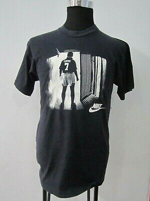 menta Porra seno  Vintage Manchester United Eric Cantona T shirt by Nike Size S | eBay