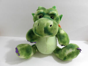 "8"" Aurora World Plush Green Legendary Friends Dragon Toy Animal"