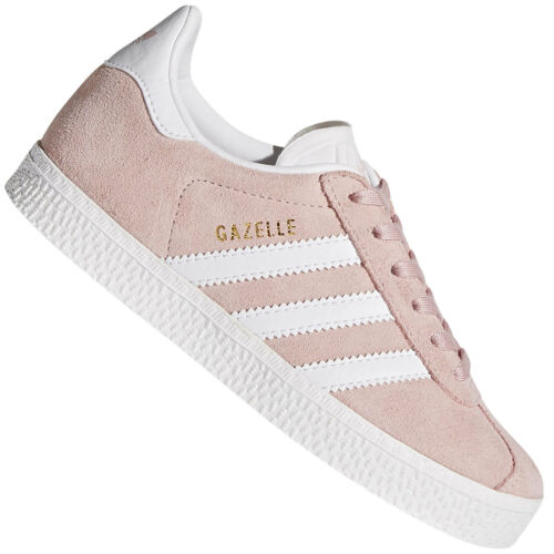 Adidas Originals Gazelle Children Kids Sneakers Trainers Low Shoes Suede