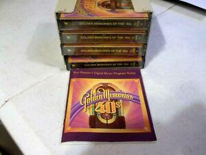 Readers Digest Golden Memories of the 40's - 4 Cassette Tape Set Plus Booklet