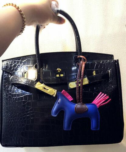 Kunstleder Pferd Schlüsselanhänger handgemachte Tier Anhänger Anhänger Mode Acce