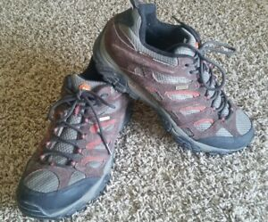 b689f2b7 Details about Merrell Vibram Shoes Waterproof Continuum Size 11 Mens  Espresso Walking Hiking