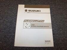 1999 Suzuki Grand Vitara SUV Electrical Wiring Diagram Manual JS JLX 2.5L V6