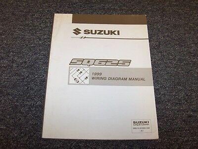 1999 Suzuki Grand Vitara SUV Electrical Wiring Diagram ...