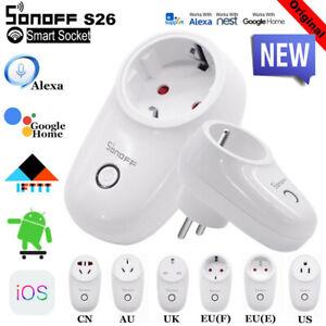 Sonoff-S26-IFTTT-WIFI-Smart-Power-Socket-Wireless-Remote-Timer-US-EU-UK-AUPlug