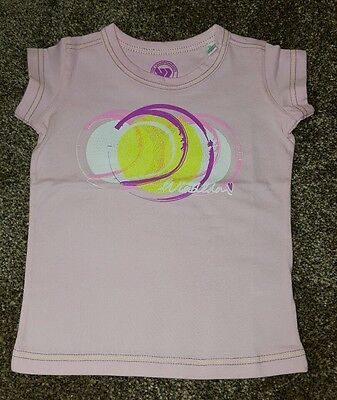 Di Wimbledon Per Neonate T Shirt Girocollo. Taglia 12-18 Mesi. Nuovo Di Zecca-