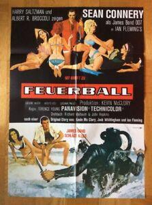 Feuerball-James-Bond-007-Kinoplakat-039-80-Sean-Connery-Claudine-Auger