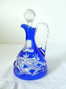 Carafe-a-liqueur-en-cristal-taille-bleu
