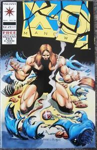 X-O-MANOWAR-28-VALIANT-1994-NM-INCLUDES-CARD