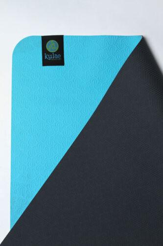 Slate Includes Free $10 Yoga Mat Cleaner Kulae KU5EMBS 5MM Eco Yoga Mat Sea