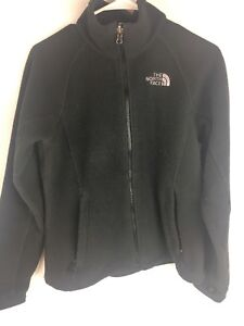 The-North-Face-Women-039-s-Black-Full-Zip-Fleece-Sweater-Size-Small-read-Descrip-AG