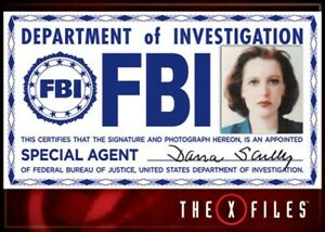 X-Files-Scully-FBI-Badge-Photo-Magnet