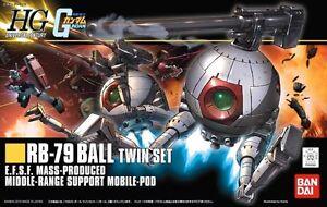 Bandai Hguc 1/144 Rb-79 Double Boule Set Maquette En Plastique Mobile Gundam Avoir Une Longue Position Historique