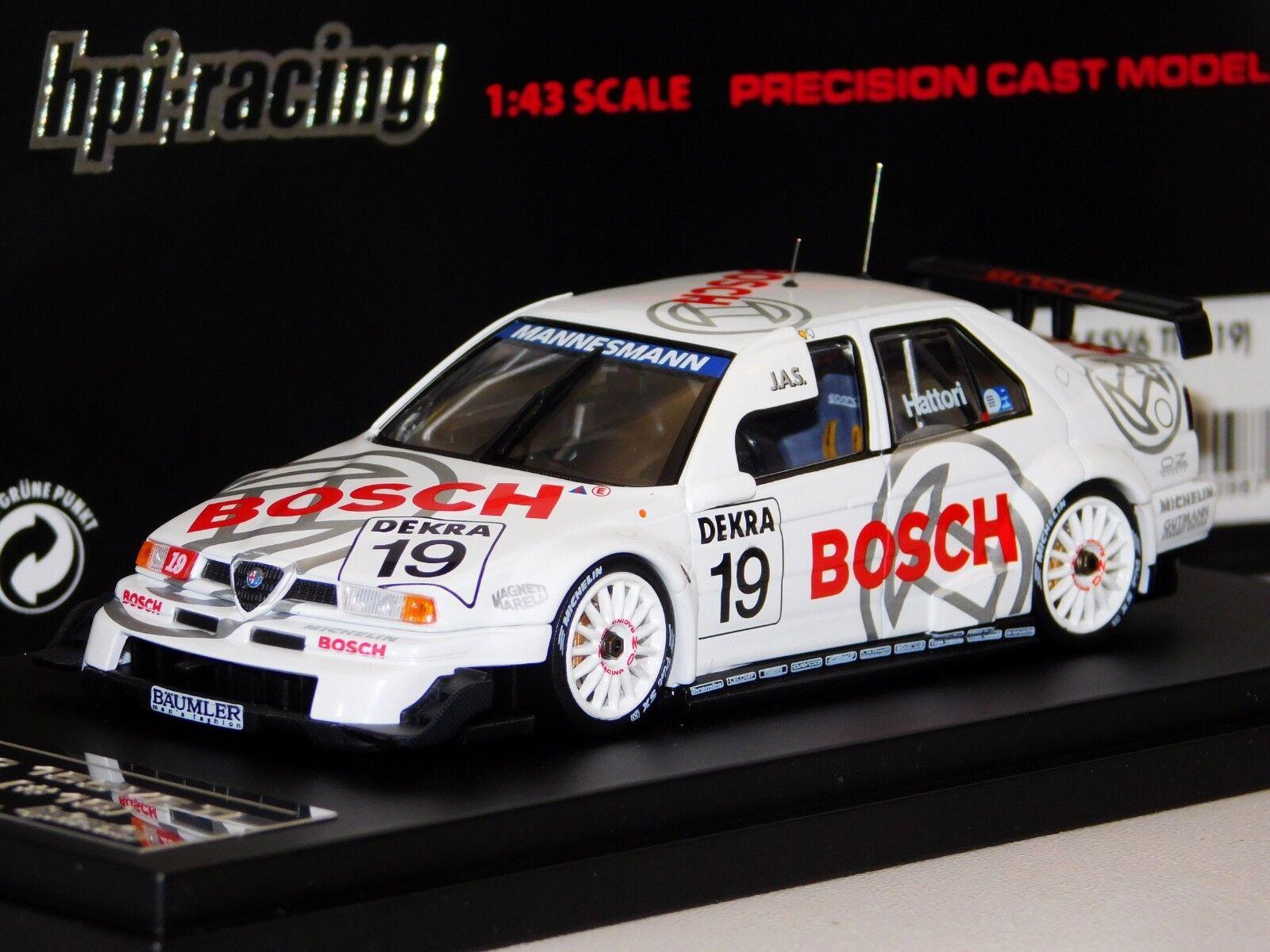 ALFA ROMEO 155 V6 TI BOSCH  19 ITC 1996 HPI 8098 1 43