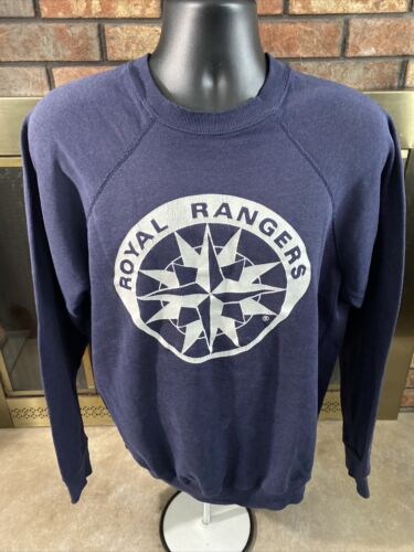 Vintage Royal Rangers Christian Crewneck Sweatshir