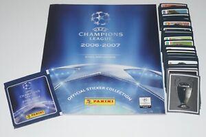 PANINI Champions League 2006/07 CL 06/07 Komplettset + Leeralbum + Tüte