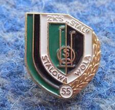 STAL STALOWA WOLA 55 ANNIVERSARY/1938-1993/ POLAND FOOTBALL BASKETBALL PIN BADGE