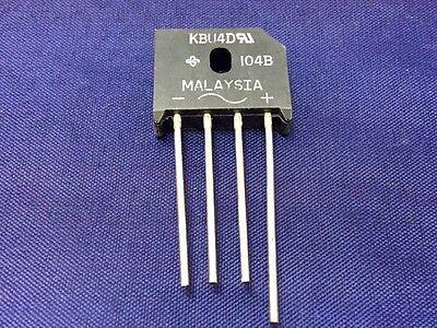 Vishay KBU4D-E4 Bridge Rectifier 4A 200V 4-Pin KBU
