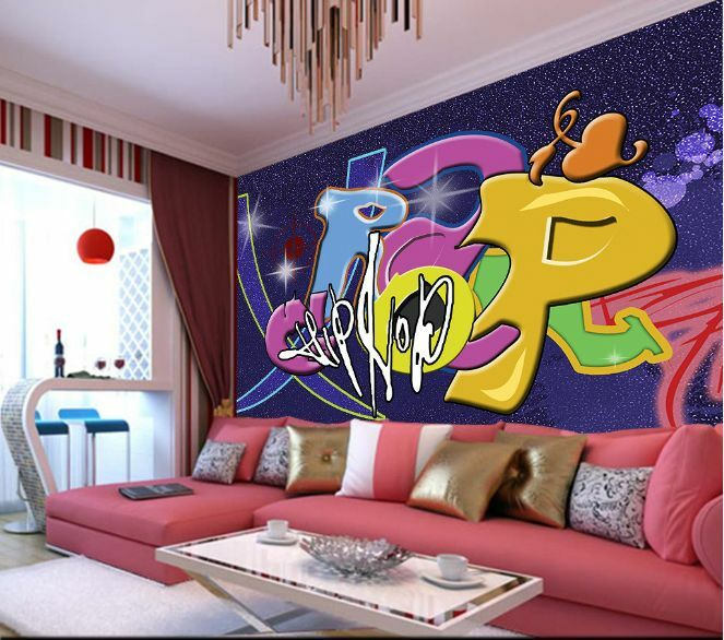 3D Cool Graffiti 50 Wall Paper Wall Print Decal Wall Deco Indoor AJ Wall Paper