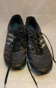 Details about Adidas Adistar Boost Men's Running Shoes Gray Sneakers Size 12 used cleaned