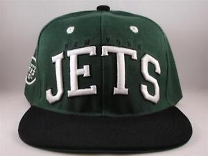 Image is loading New-York-Jets-NFL-Retro-Snapback-Cap-Hat- 9f977a9980b7