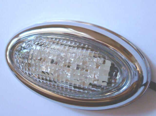 Chrysler PT Cruiser Seitenblinker Chrom LED Blinker Seite weiss  Style ! white